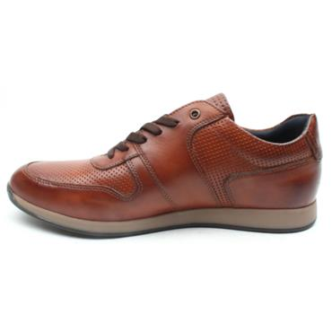 BASE LONDON DAKOTA LACED SHOE - TAN
