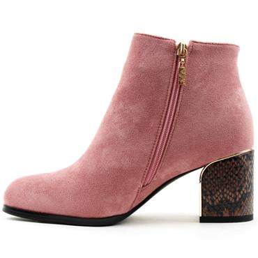 KATE APPLEBY BOOT DALSTON - Pink Suede