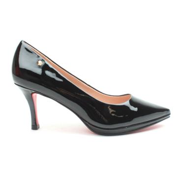KATE APPLEBY DAWLEY SHOE - BLACK PATENT