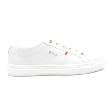 BOWE DELANY LACED SHOE - WHITE