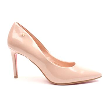 KATE APPLEBY DISS SHOE - NUDE PATENT