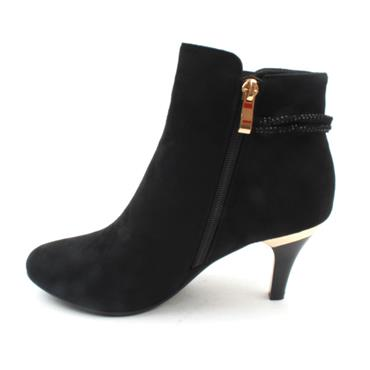 SUSST DONNA0 ANKLE BOOT - Black