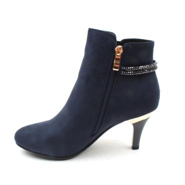 SUSST DONNA0 ANKLE BOOT - NAVY