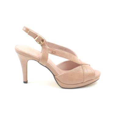 KATE APPLEBY DOWNES STRAP SANDAL - NUDE
