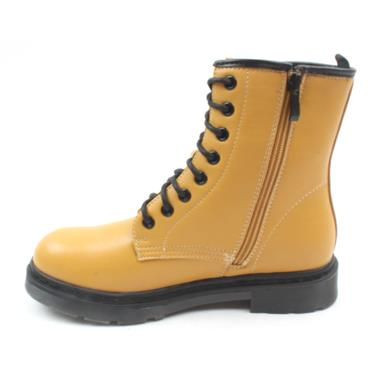 ZANNI&CO DRILLEYBUMBLE LACED BOOT - YELLOW