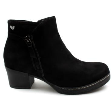 SUSST DUSTY0 ANKLE BOOT - Black
