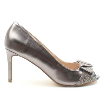 GLAMOUR EBONIE SHOE - PEWTER