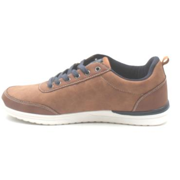 LLOYD AND PRYCE EIGHT LACED SHOE - CAMEL