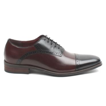ESCAPE ELITA BROGUE SHOE - BLACK WINE