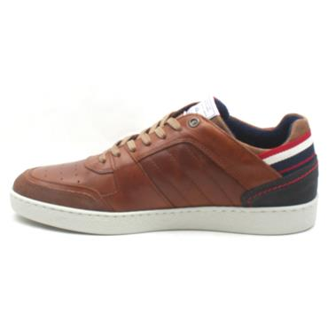 LLOYD AND PRYCE ELSOM LACED SHOE - TAN
