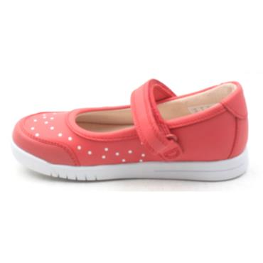 CLARKS EMERY HALO SHOE - CORAL G