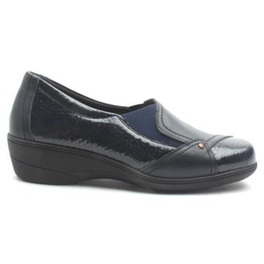 SOFTMODE EMILY SLIP ON SHOE - NAVY