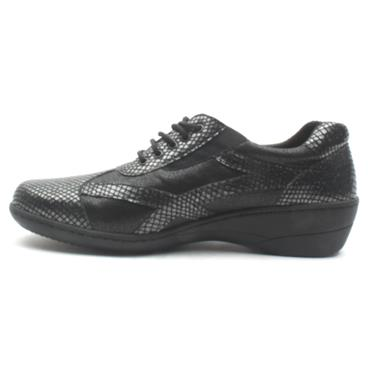 SOFTMODE EE FIT EMMA SHOE - Black