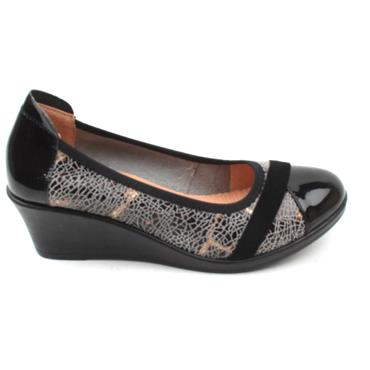 INEA FADO WEDGE SHOE - BRONZE