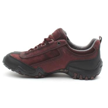ALL ROUNDER FINA TEX LACED SHOE - BURGUNDY