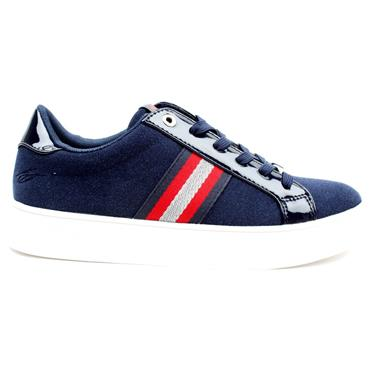 LLOYD AND PRYCE FITZHENRY LACED SHOE - NAVY