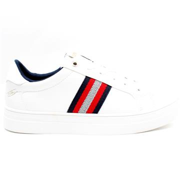 LLOYD AND PRYCE FITZHENRY LACED SHOE - WHITE
