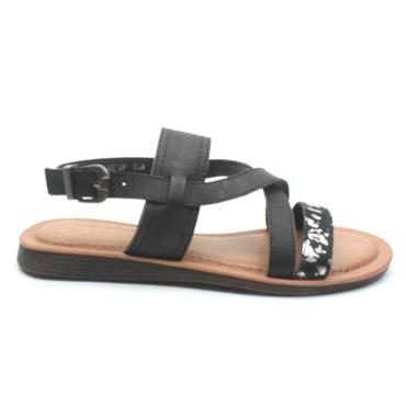 UNA HEALY FIX ME UP SANDAL - BLACK MULTI