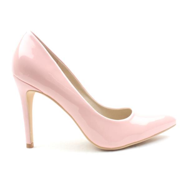 67697762108 Lunar Flc091powell2 Court Shoe - Pink Patent