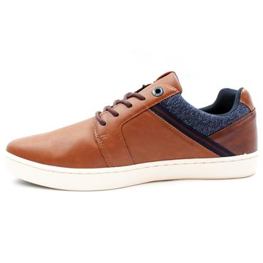 LLOYD AND PRYCE FLIER LACED SHOE - CAMEL
