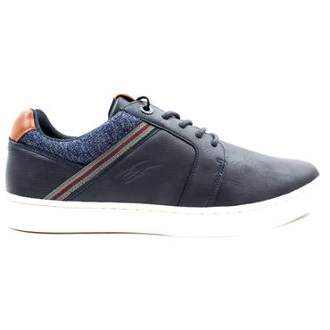 LLOYD AND PRYCE FLIER LACED SHOE - NAVY