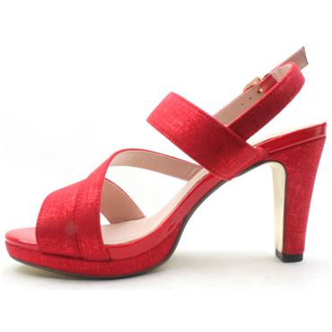 KATE APPLEBY FLITWICK STRAPPY SANDAL - RED