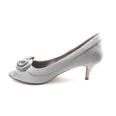 LUNAR FLR222 RIPLEY PEEP TOE LADIES - GREY