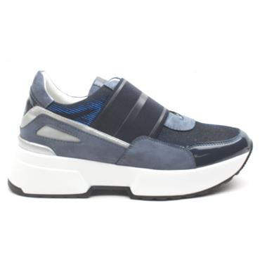 LLOYD AND PRYCE FOWLEY SHOE - BLUE