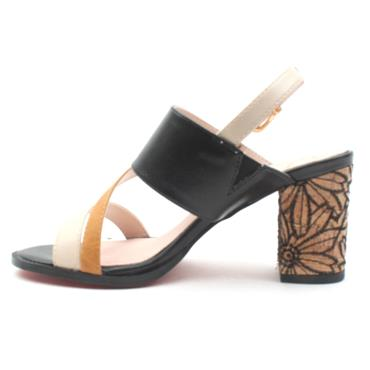 KATE APPLEBY FROME STRAP SANDAL - BLACK MULTI