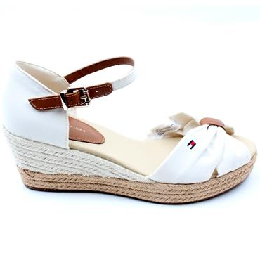 TOMMY HILFIGER FW0FW04785 SANDAL - ICE WHITE