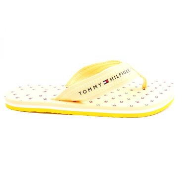 TOMMY HILFIGER FW0FW05663 TOE POST - YELLOW