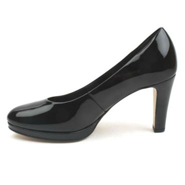GABOR COURT SHOE GAB270 - BLACK PATENT
