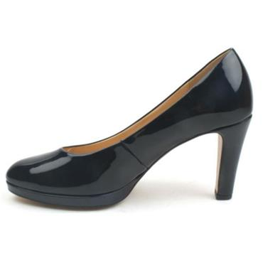 GABOR COURT SHOE GAB270 - NAVY PATENT