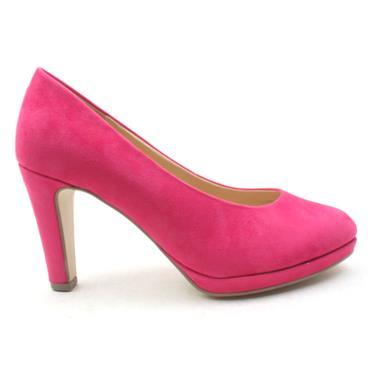 GABOR GAB270  COURT SHOE - Pink Suede