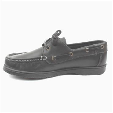 SUSST GABYBS1 KIDS DECK SHOE 31-35 - Black