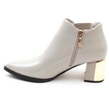 KATE APPLEBY GILLOCK BOOT - LIGHT GREY