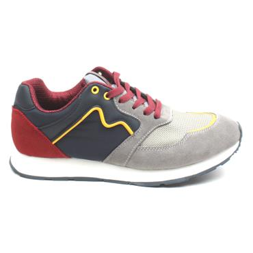 LLOYD AND PRYCE GILPIN LACED SHOE - GREY MULTI