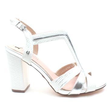 UNA HEALY GIRLS LIE TOO SANDAL - SILVER MULTI