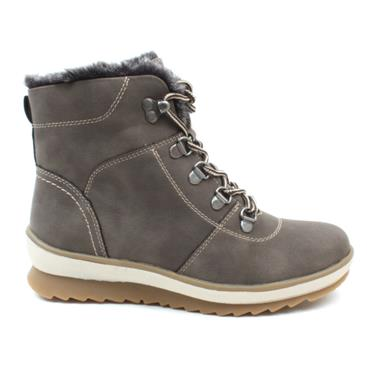 LUNAR GLB053FELIX LACED BOOT - TAUPE