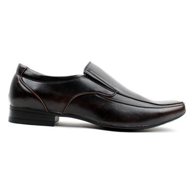 GOOR SLIP ON SHOE GOOR-113 - DARK BROWN