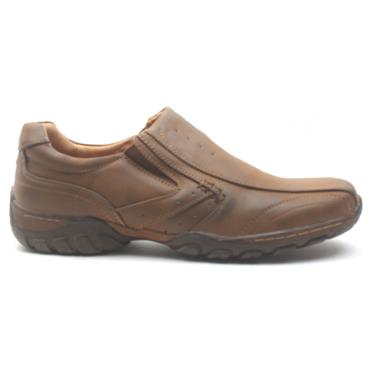 GOOR MENS GOOR-14 SLIP ON SHOE - TAN