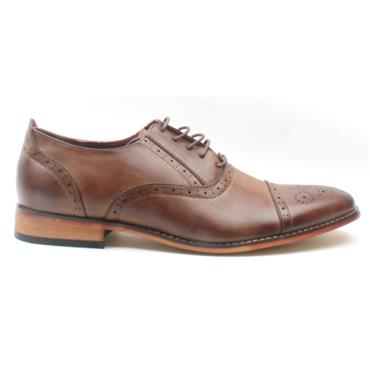 GOOR MENS LACED GOOR-172 - BROWN