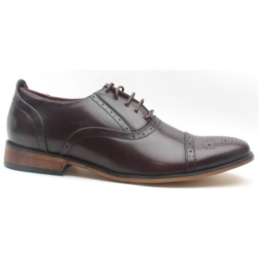 GOOR MENS LACED GOOR-172 - OX BLOOD