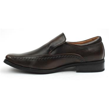 GOOR-975  BOYS SLIP ON SHOE - BROWN