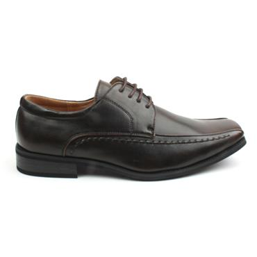 GOOR BOYS LACED SHOE - BROWN