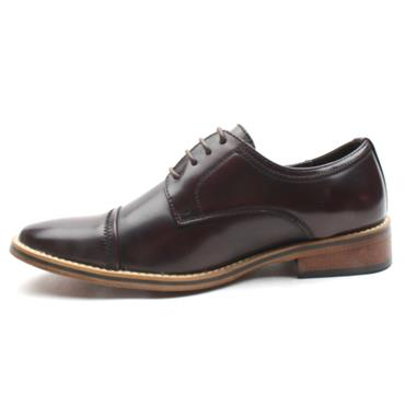 GOOR 996 YOUTHS SHOE - BURGUNDY