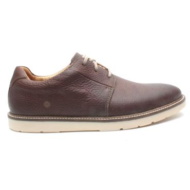 CLARKS GRANDIN PLAIN MENS - DARK TAN G