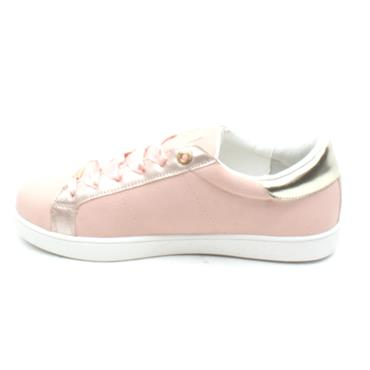 LLOYD AND PRYCE HIGGINS LACED SHOE - PINK