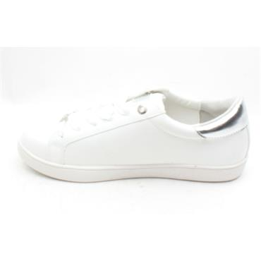 LLOYD AND PRYCE HIGGINS LACED SHOE - WHITE