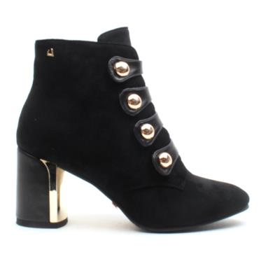 UNA HEALY HOLIDAY ANKLE BOOT - Black